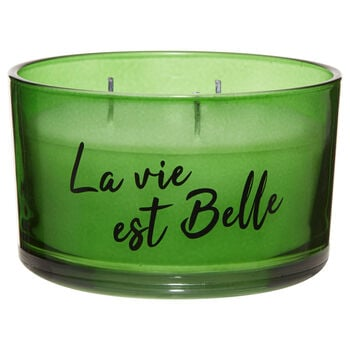 La Vie Est Belle Three-Wick Candle
