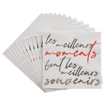 Set of 20 Paper Napkins