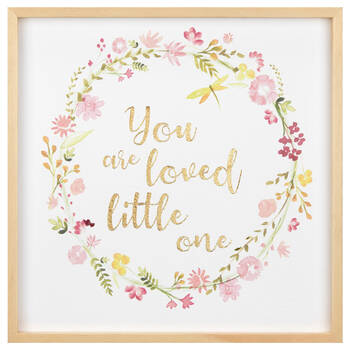 You Are Loved Framed Art
