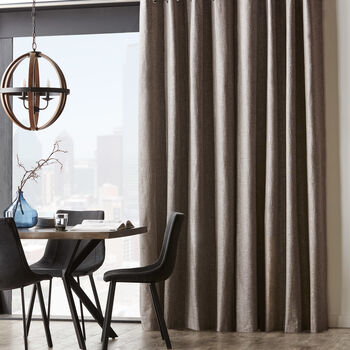 Adriana Gloss Effect Curtain