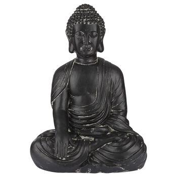 Large Clay Buddha Statue 2'