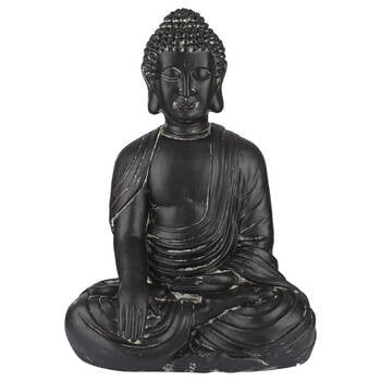 Large Clay Buddha Statue 2'
