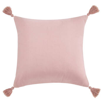 """Ofira Knitted Decorative Pillow with Heart 18"""" X 18"""""""