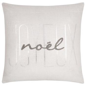"""Joyeux Noël Decorative Pillow 17"""" x 17"""""""
