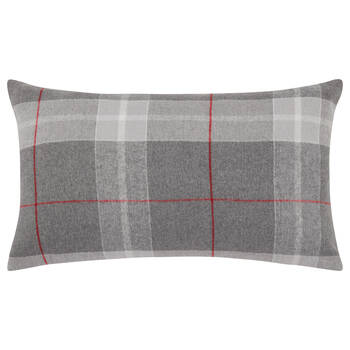 "Archie Lumbar Plaid Decorative Pillow 15"" X 30"""