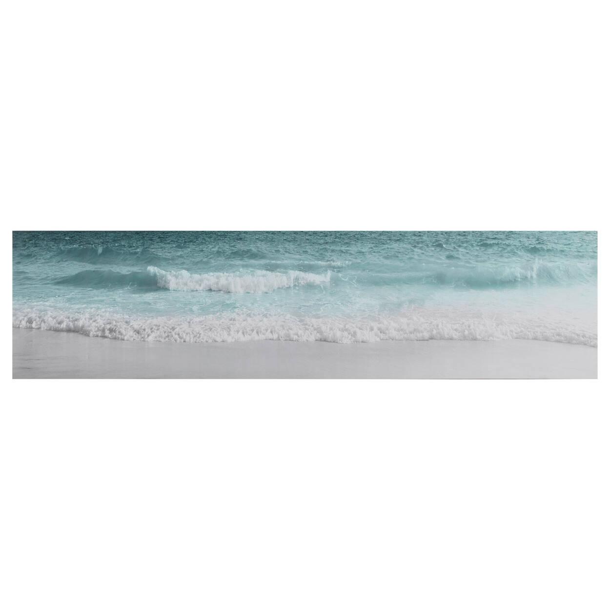Tableau imprimé vagues d'océan