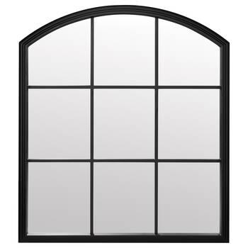 Miroir style fenêtre à carreaux arche