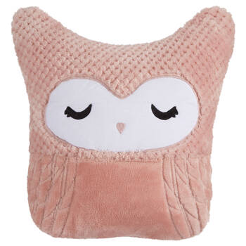 "Maelie Owl Decorative Pillow 13"" X 12"""