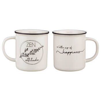 Ensemble de 2 tasses en céramique