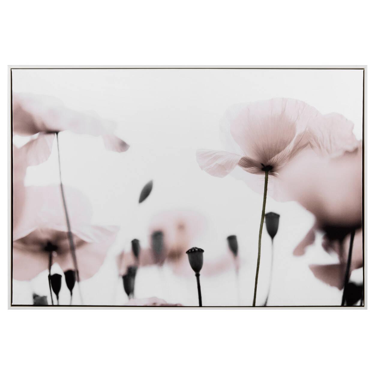 Cadre imprimé floral