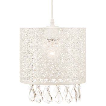 Cut-Out Metal Ceiling Lamp with Droplets