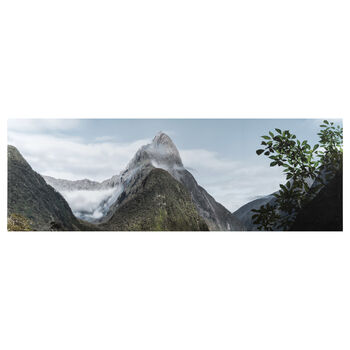 Mountain View Printed Canvas