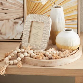 Three-Toned Ceramic Table Vase