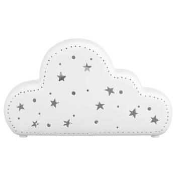 Veilleuse nuage en céramique ajourée