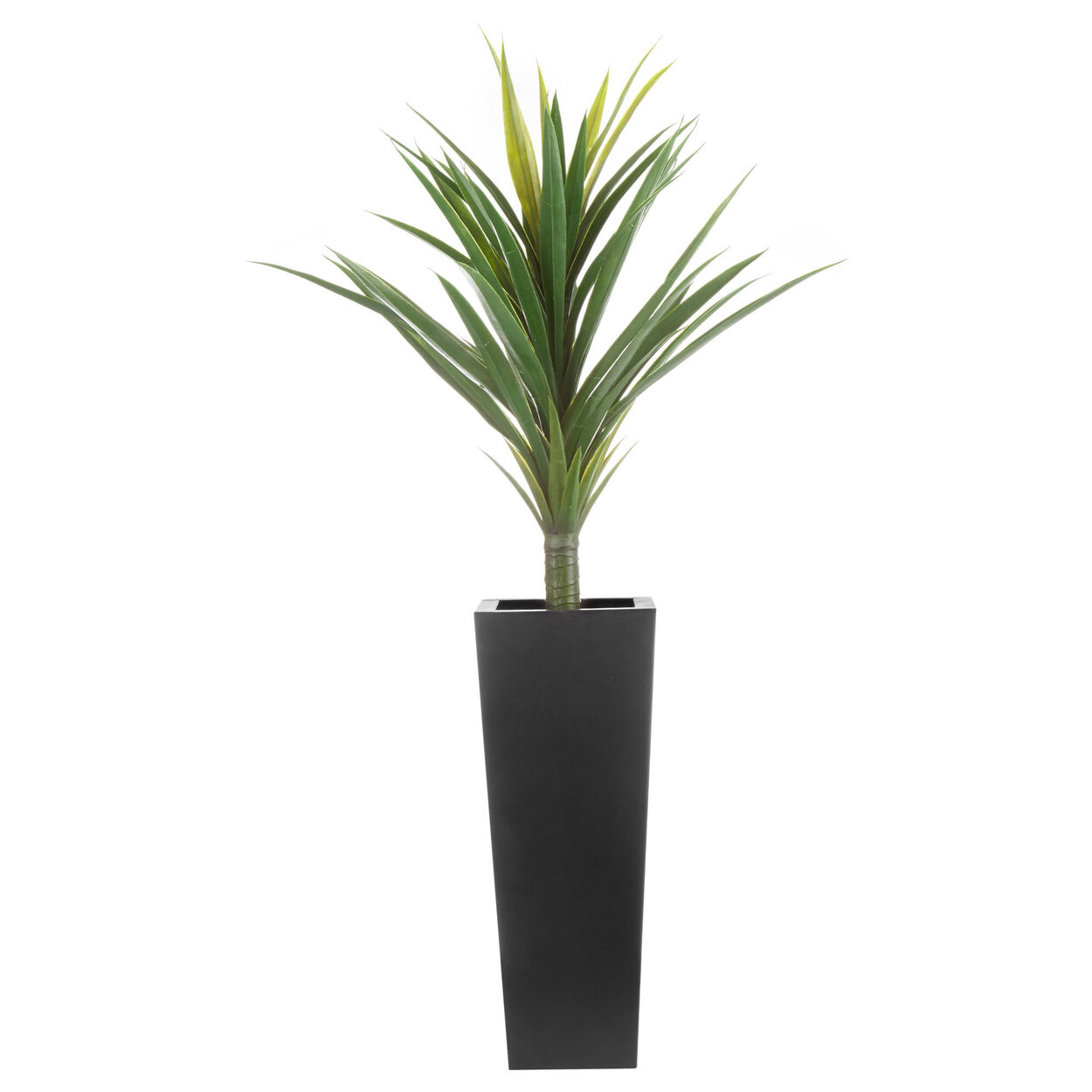 Potted Artificial Tropical Tree