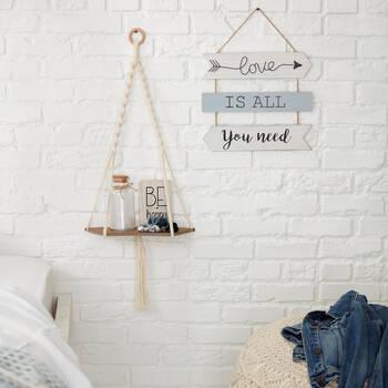 Decorative Block Be Happy