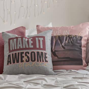 "Neomi Danse Decorative Pillow 19"" x 19"""