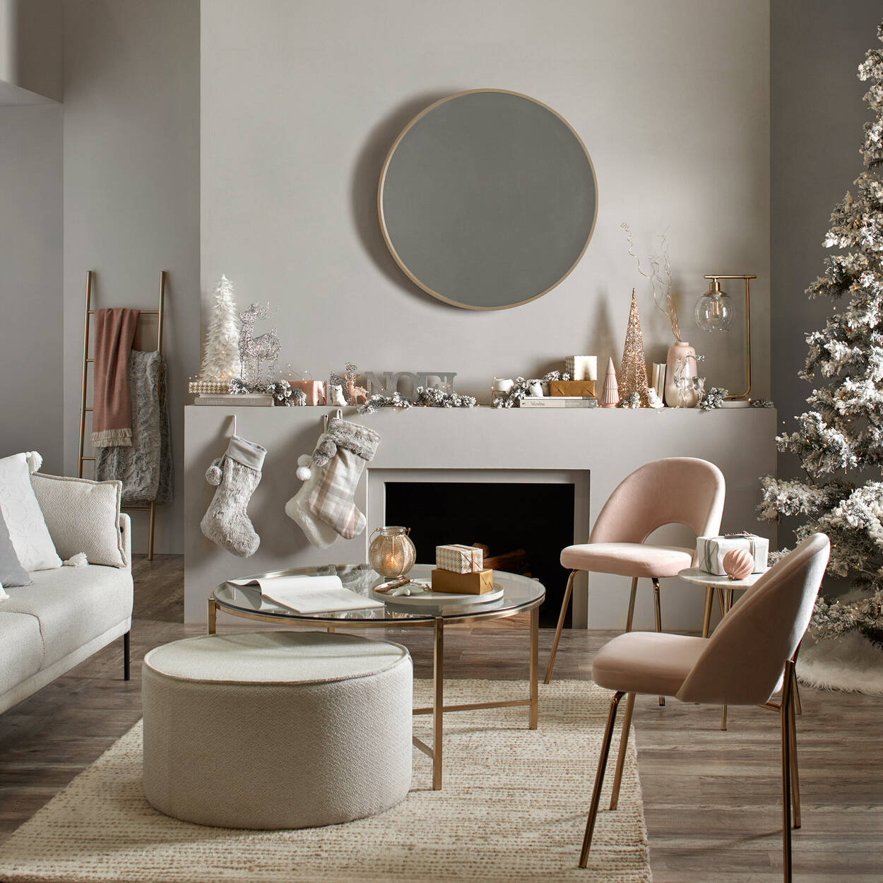 Decorative Pink Tree