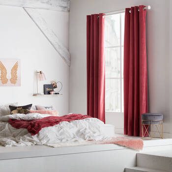 Haida Velvet Panel Curtain