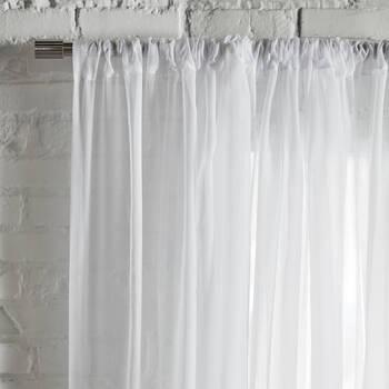 Rod Pocket Sheer Curtain