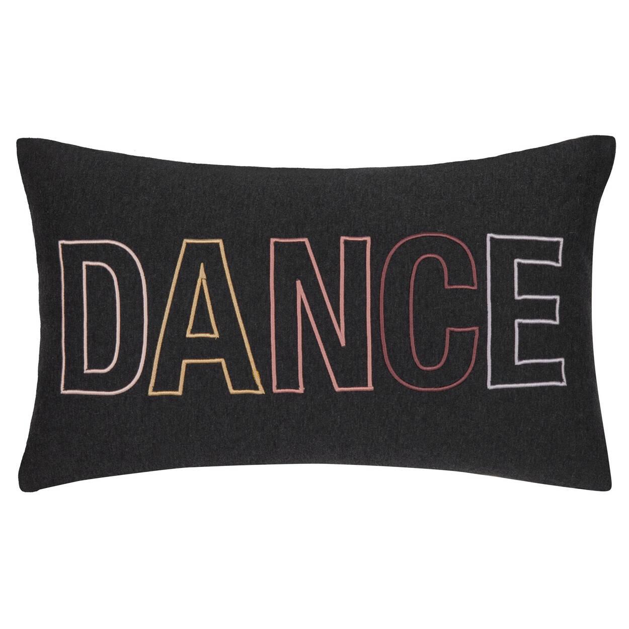"""Coussin lombaire décoratif Estela Dance 13"""" x 22"""""""