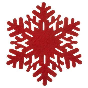 Felt Snowflake Placemat
