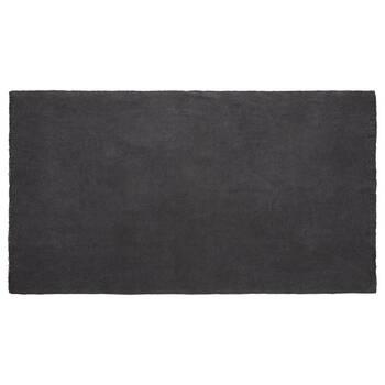 Tapis gris charbon délavé