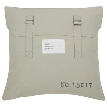 """Strap Details Decorative Pillow 18"""" x 18"""""""