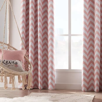 Chevron Blackout Curtain