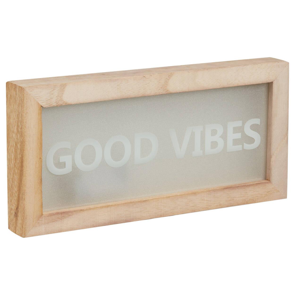 Boîte Good Vibes à DEL
