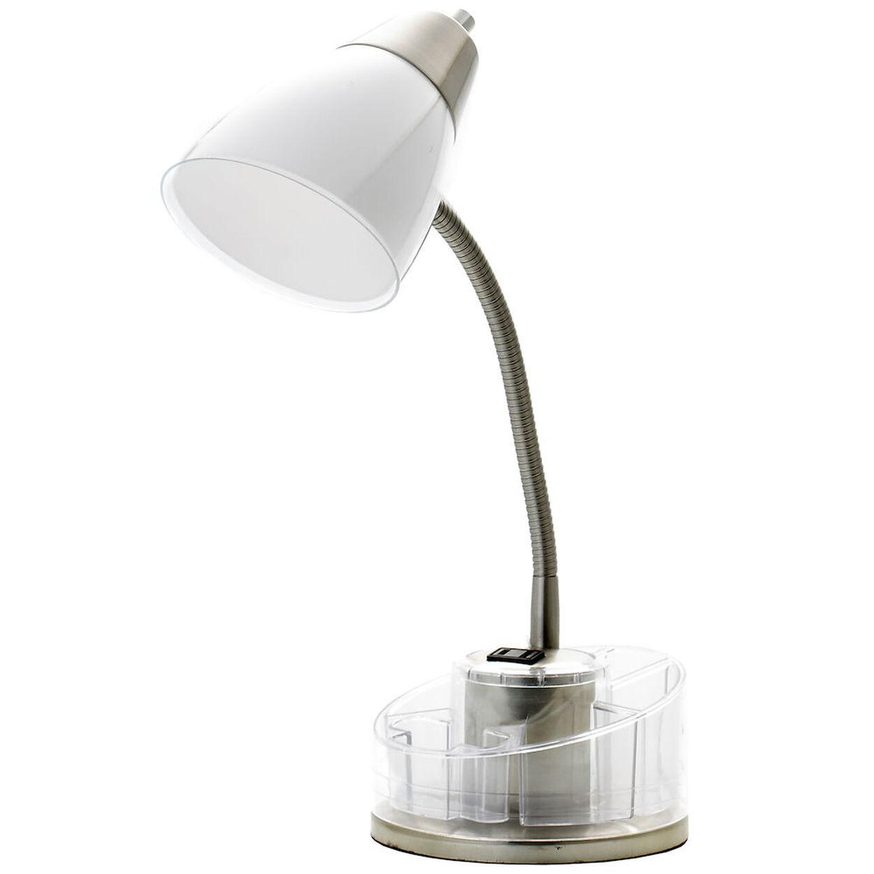 Plastic & Metal Desk Lamp