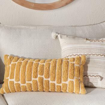 "Decorative Pillow Dane 12"" x 24"""