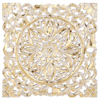 Decorative Gold Foil Plaque