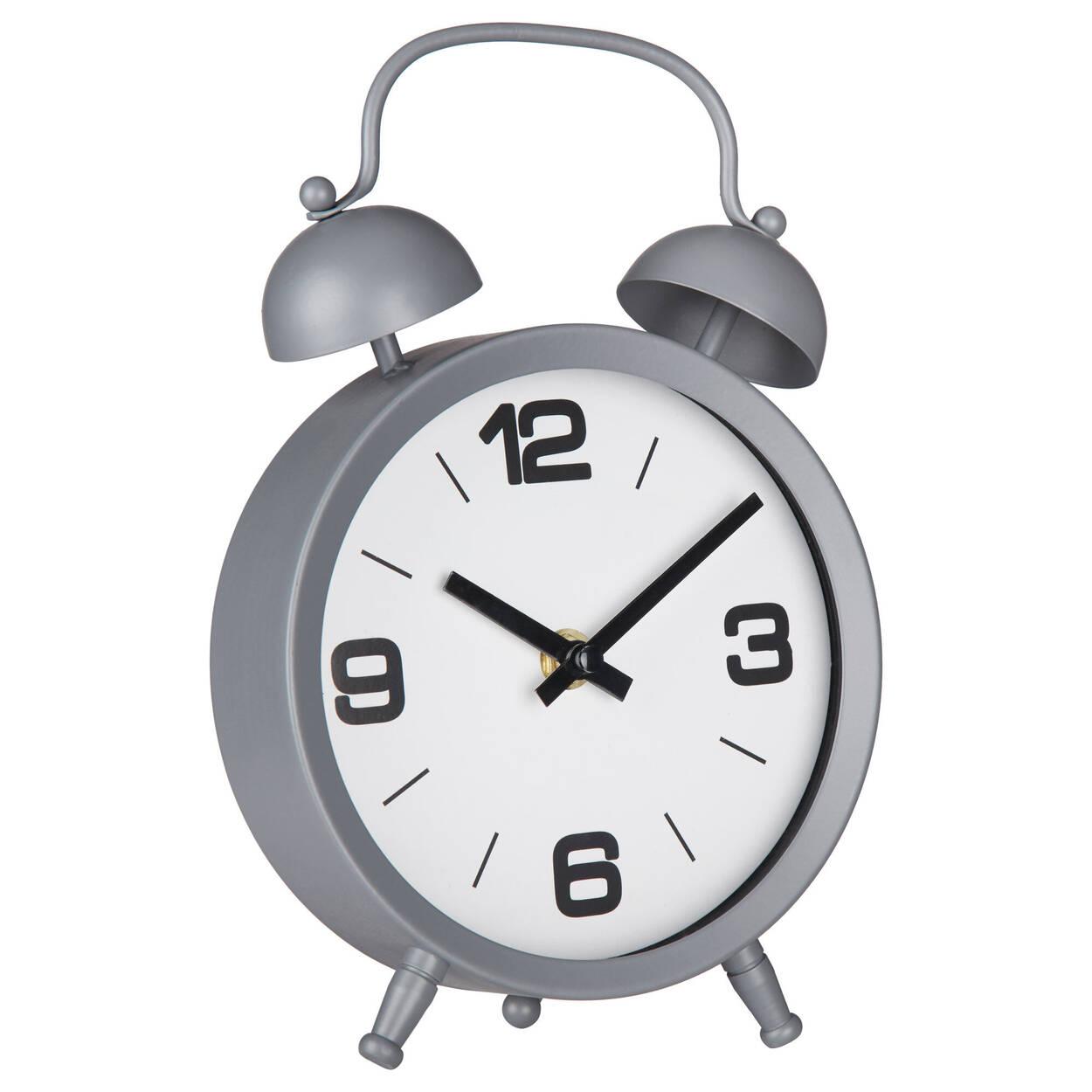 Horloge de table en métal