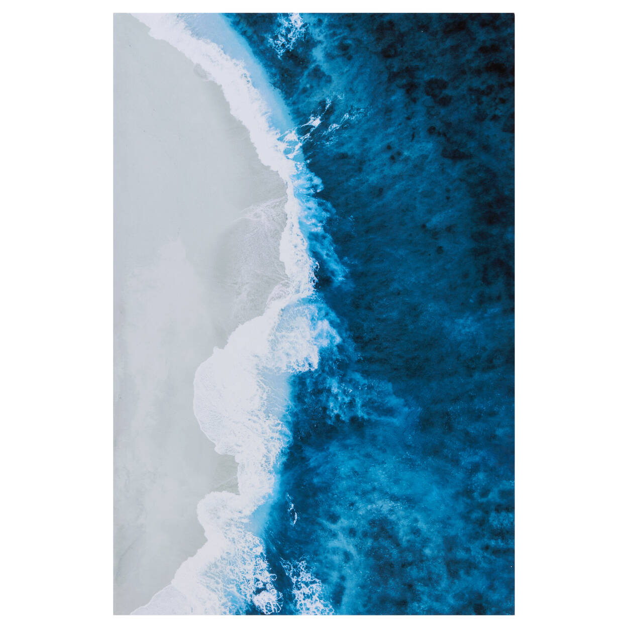 Arial View Printed Canvas