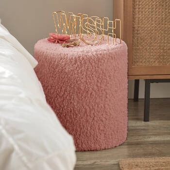 Mot décoratif Wish à DEL