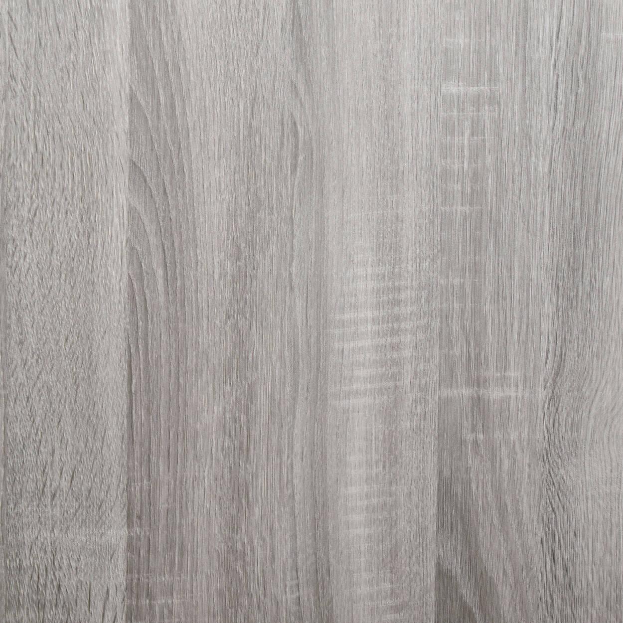 Vinyl Wood Finish and Metal Buffet