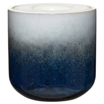 Candle in Stoneware Container