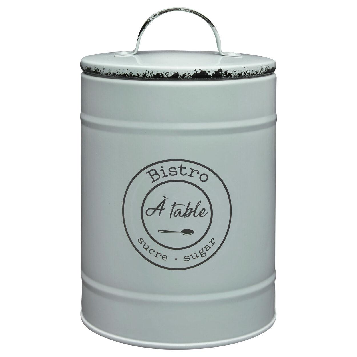 Metal Sugar Jar