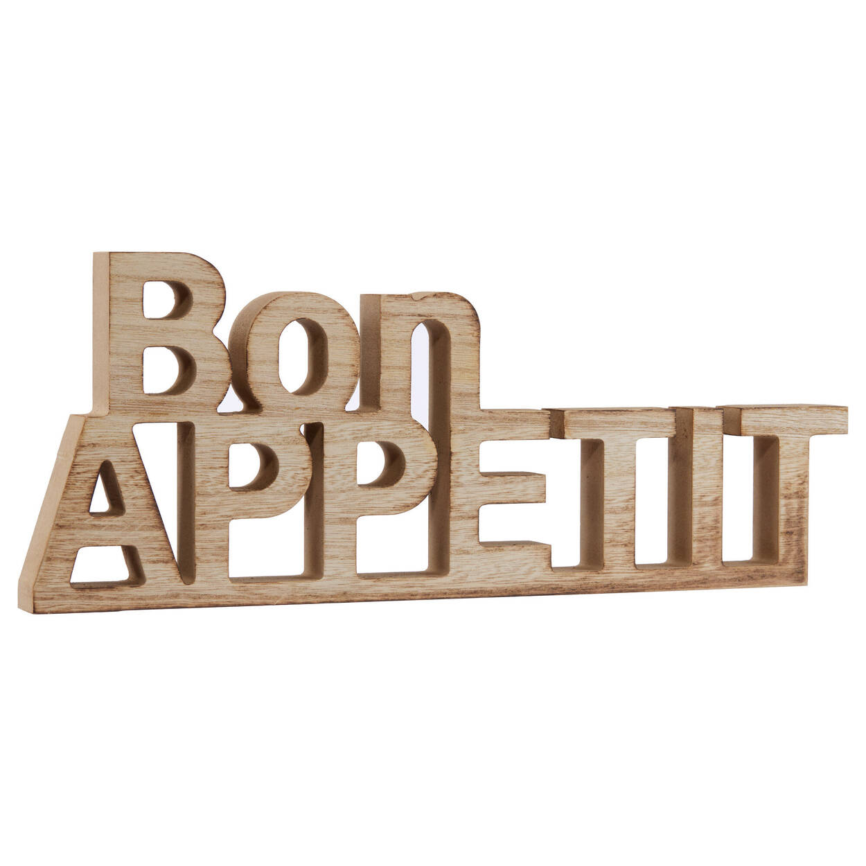 Decorative Words Bon Appetit