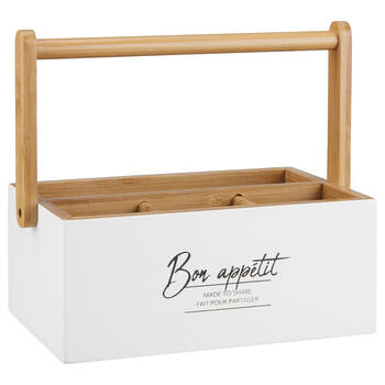 Cutlery Holder with Typography