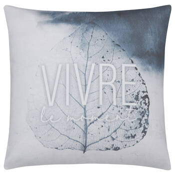 "Decorative Pillow Vivre 19"" x 19"""