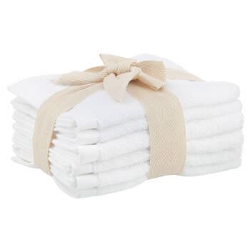Set of 6 Large Washcloths