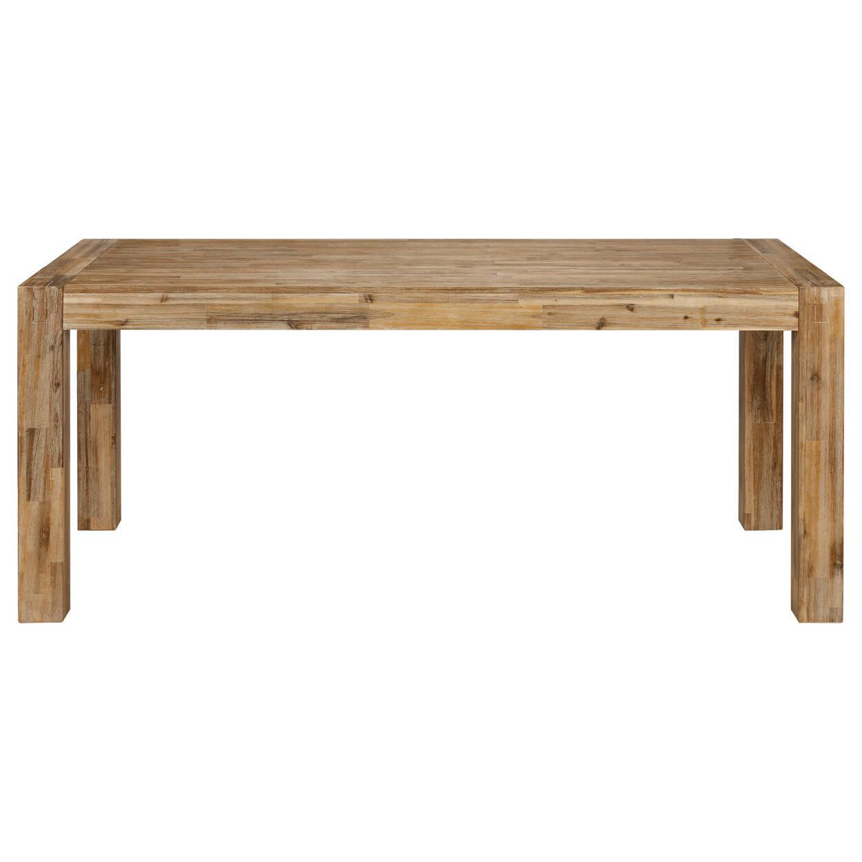 Table de salle à manger en bois