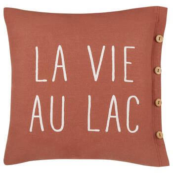 "La Vie au Lac Decorative Pillow 20"" x 20"""