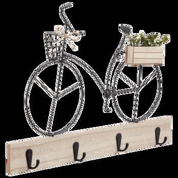 Ensemble de crochets decoratifs bicyclette