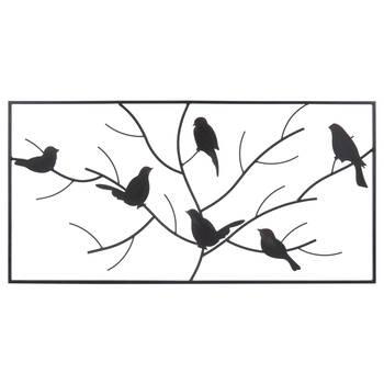Metal Birds Framed Wall Art