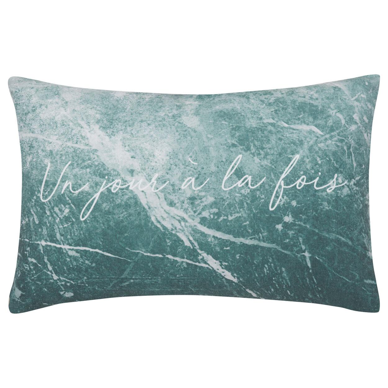 """Seamar Marbled Decorative Lumbar Pillow 13"""" X 20"""""""