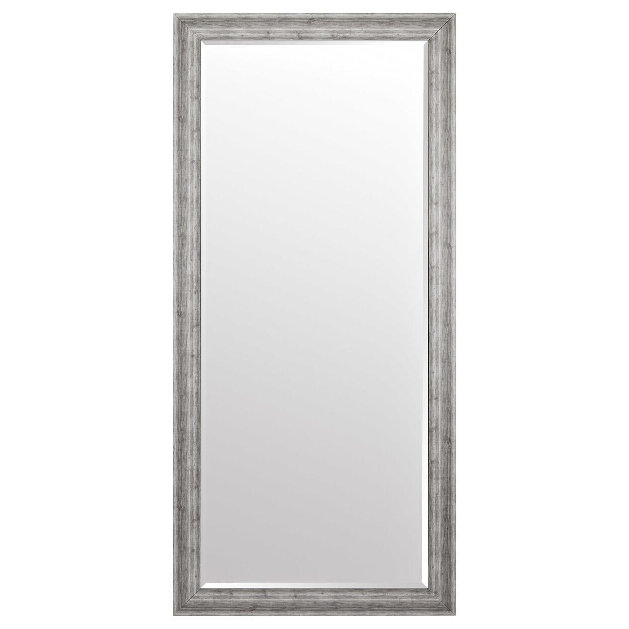 Linen-Look Mirror