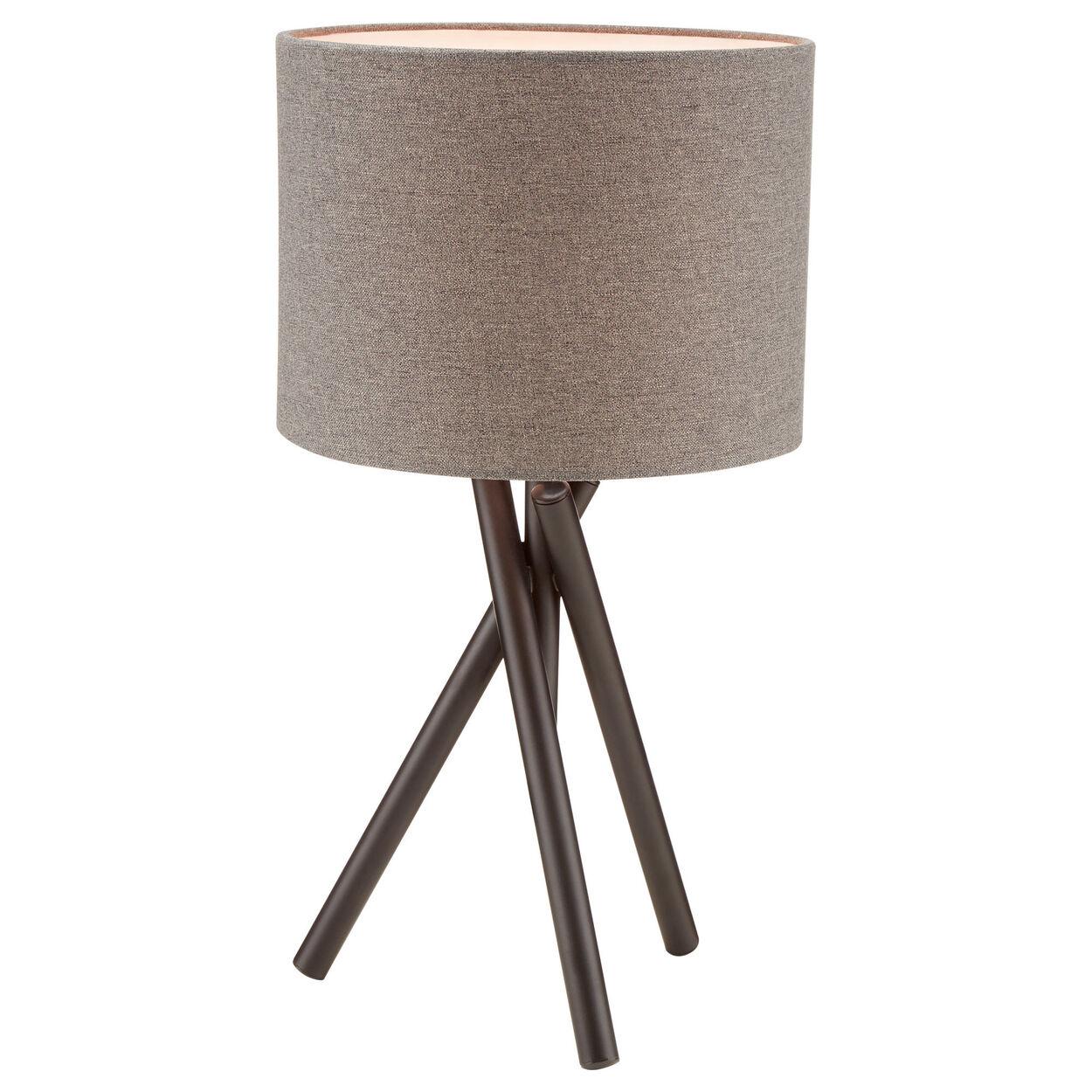 Three-Leg Metal Table Lamp